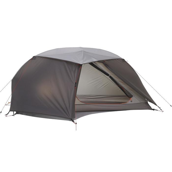 Tente de trek 900 ultralight 1 personne gris - 1296241