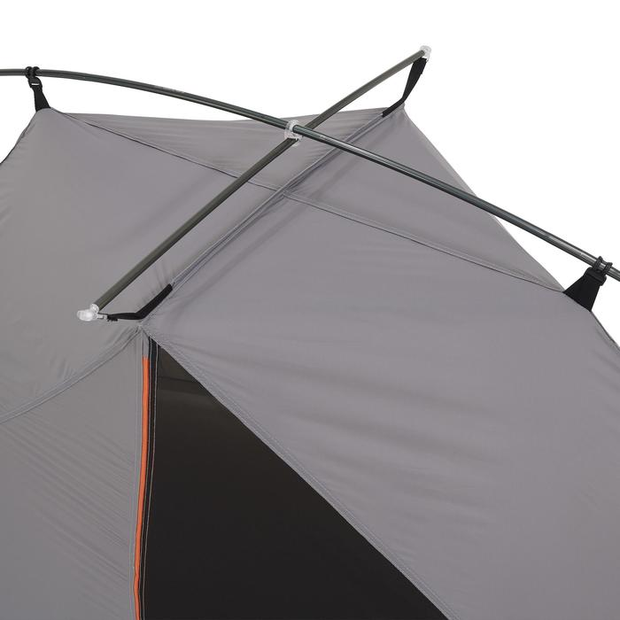 Tente de trek 900 ultralight 1 personne gris - 1296243