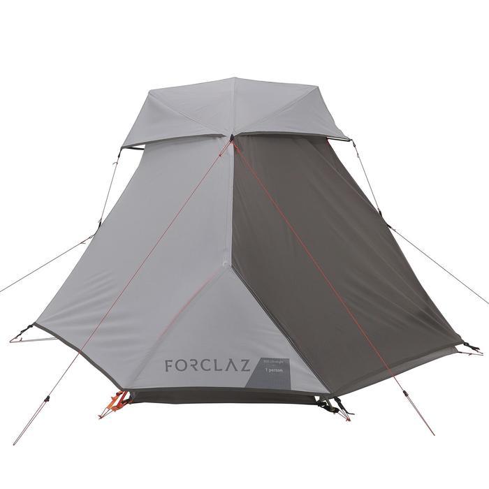Tente de trek 900 ultralight 1 personne gris - 1296251