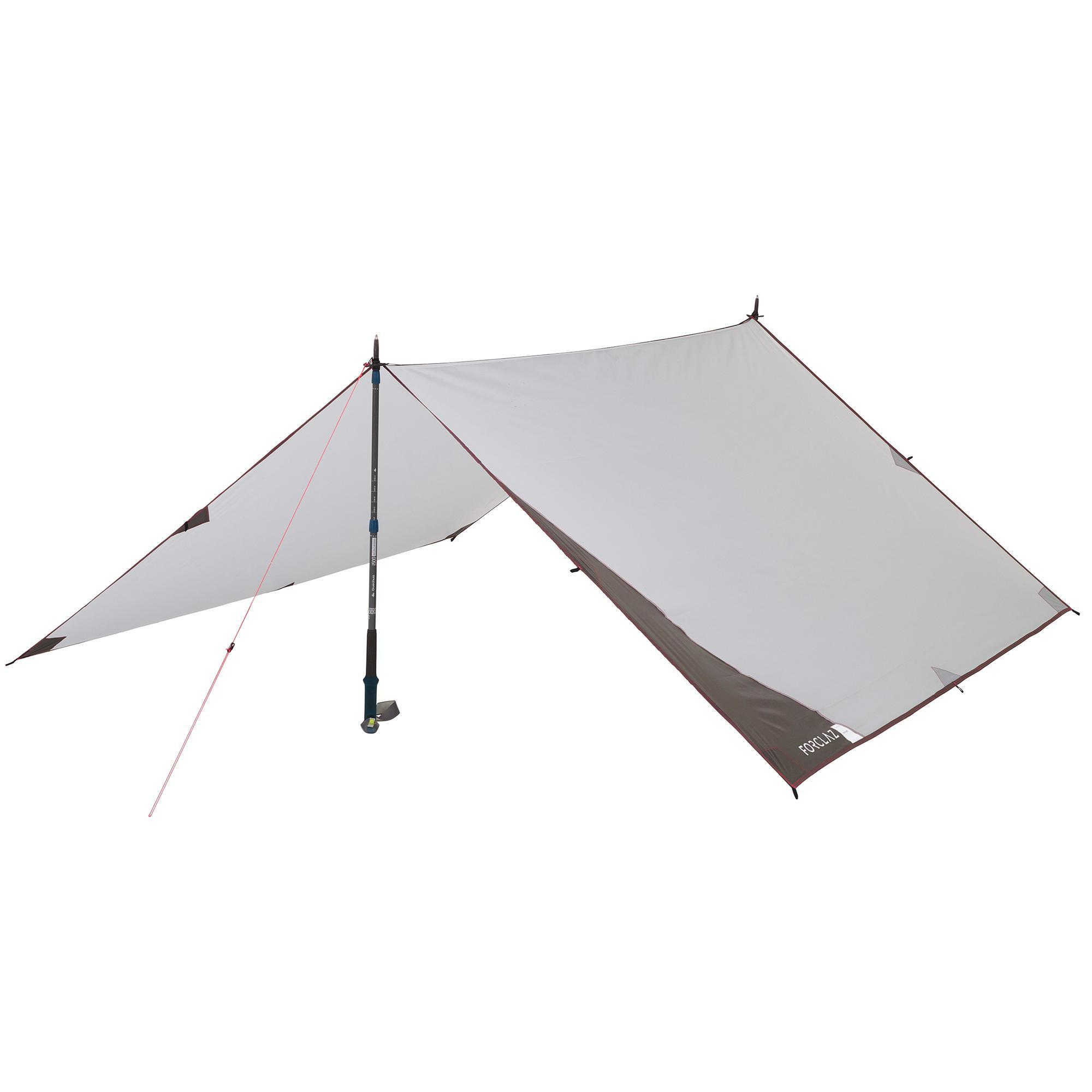 b10dcdeaf03 Forclaz Tarp voor trekking 900 ultralight grijs kopen met voordeel ...