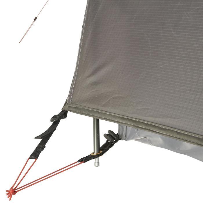 Tente de trek 900 ultralight 1 personne gris - 1296258