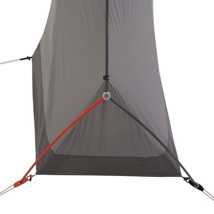 Tente de trek 900 ultralight 1 personne gris - 1296259