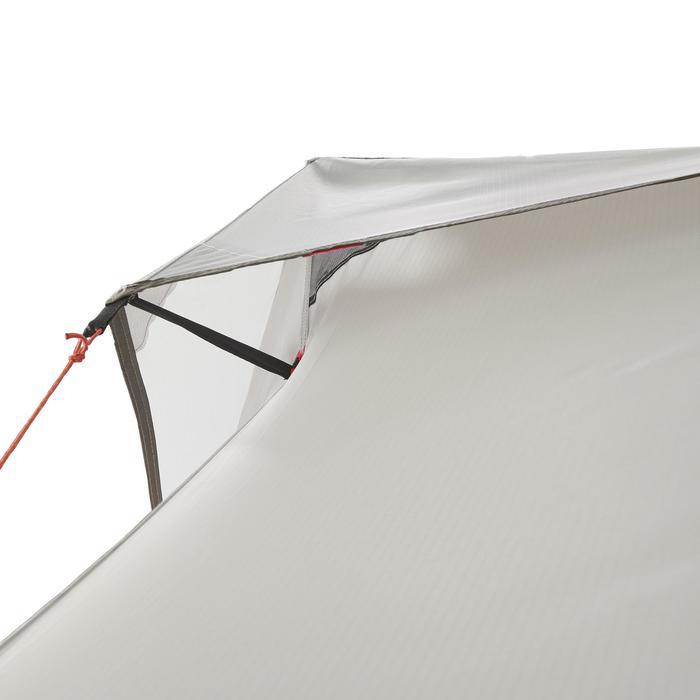 Tente de trek 900 ultralight 1 personne gris - 1296262