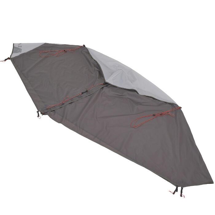 Tente de trek 900 ultralight 1 personne gris - 1296263