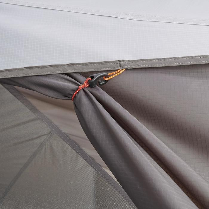 Tente de trek 900 ultralight 1 personne gris - 1296265