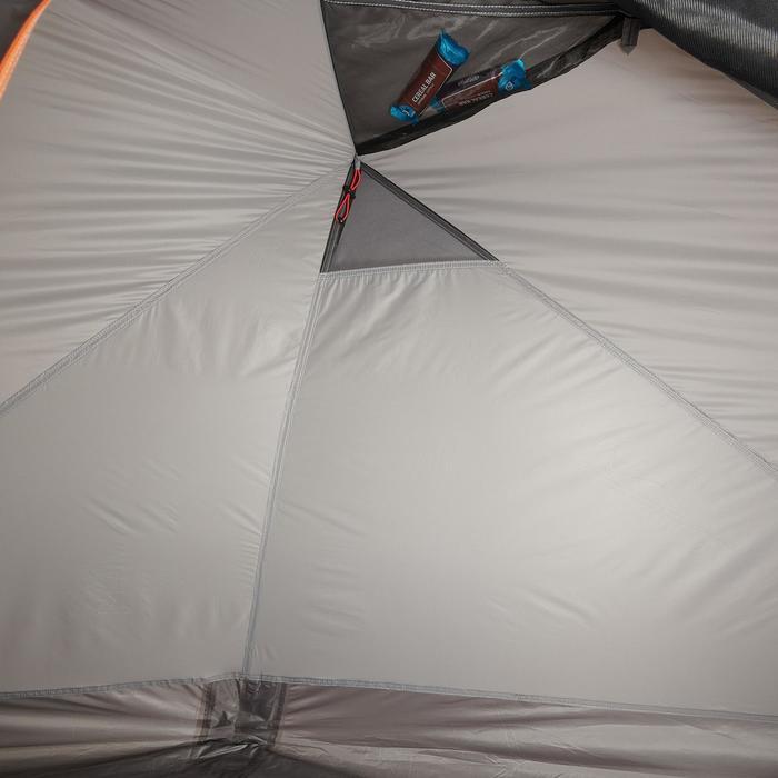 Tente de trek 900 ultralight 1 personne gris - 1296266