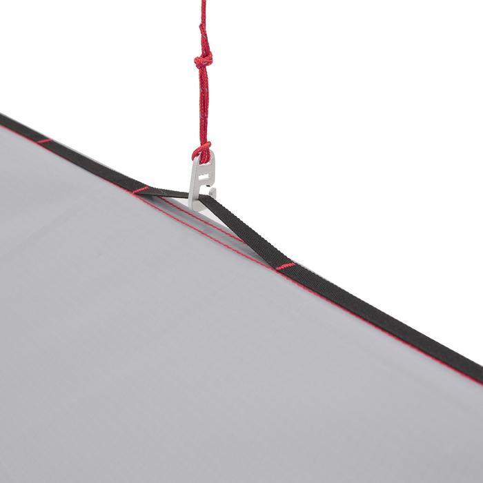 Trekking-Schutzzelt Tarp Trek 900 Ultralight grau