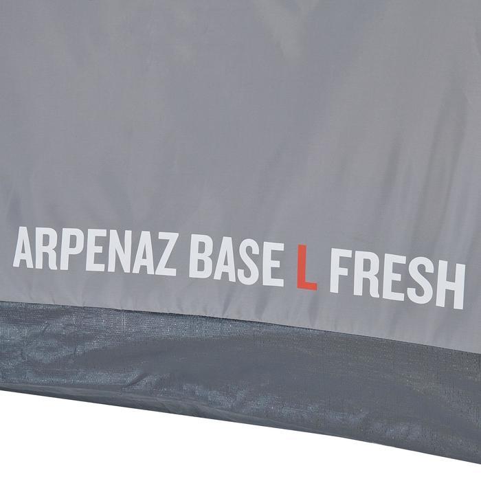 Aufenthaltszelt mit Boden Arpenaz Base Fresh Gr. L für 10 Personen