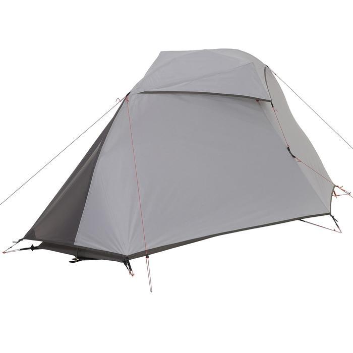 Tente de trek 900 ultralight 1 personne gris - 1296269