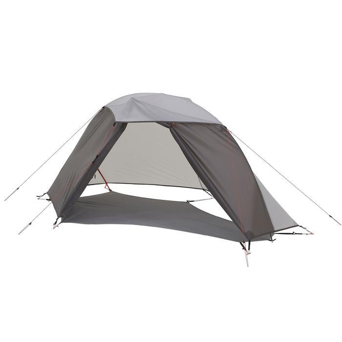 Tente de trek 900 ultralight 1 personne gris - 1296274