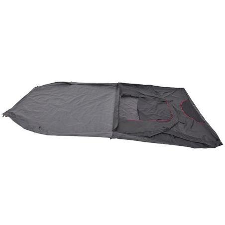Camping Tent 4 Person 1 Bedroom (Arpenaz 4.1) - Quechua Fresh & Black