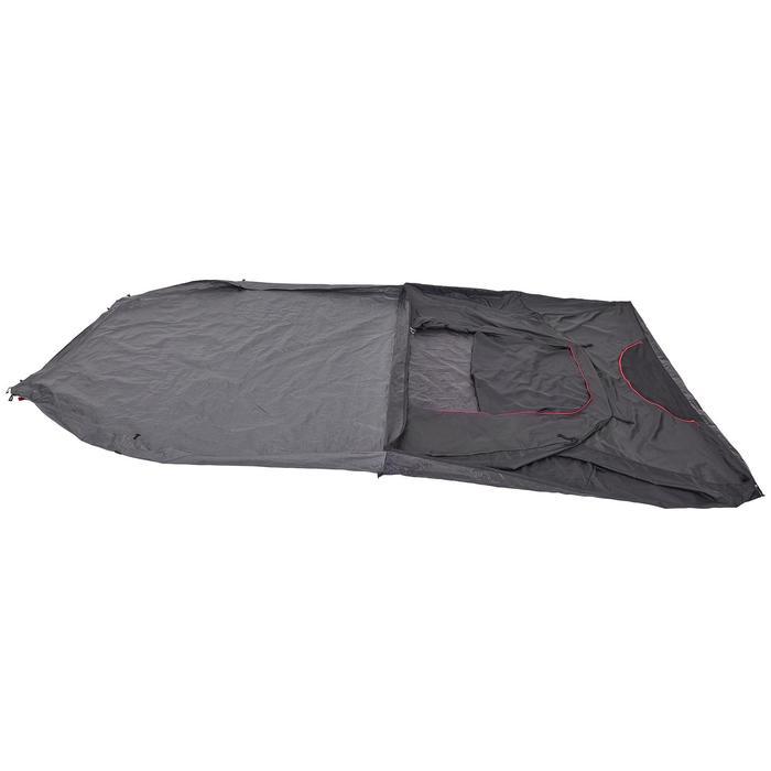 露營帳篷Arpenaz 4.1 F&B-4人1間寢室