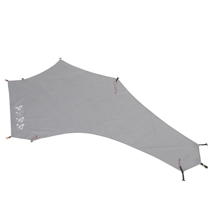 Tente de trek 900 ultralight 1 personne gris - 1296282