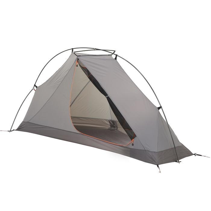 Tente de trek 900 ultralight 1 personne gris - 1296288