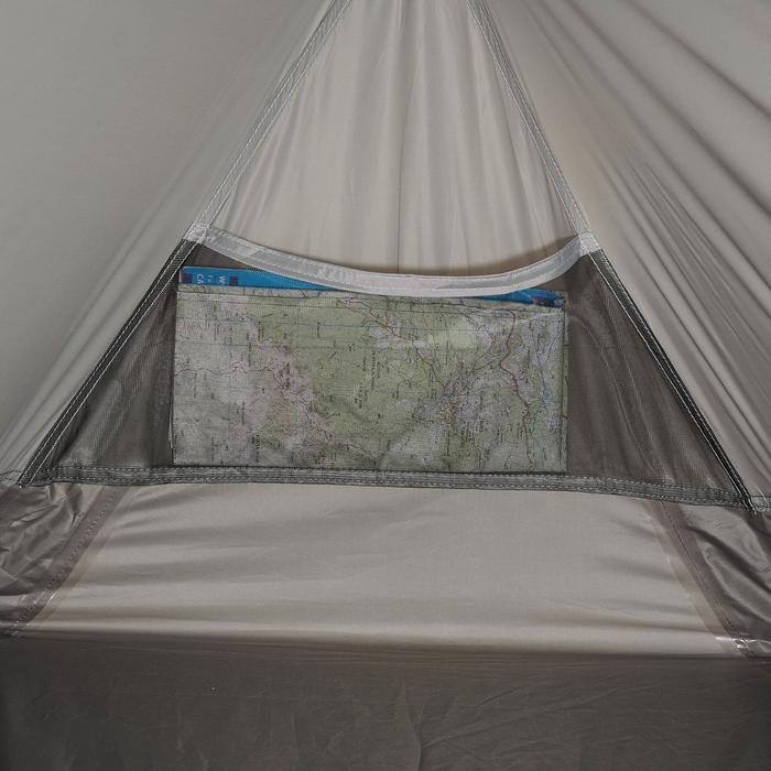 Tente de trek 900 ultralight 1 personne gris - 1296291