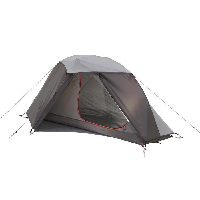 Tente de trek 900 ultralight 1 personne gris - 1296293