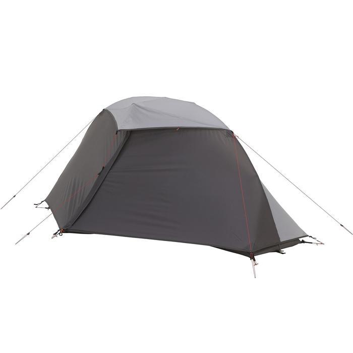 Tente de trek 900 ultralight 1 personne gris - 1296296