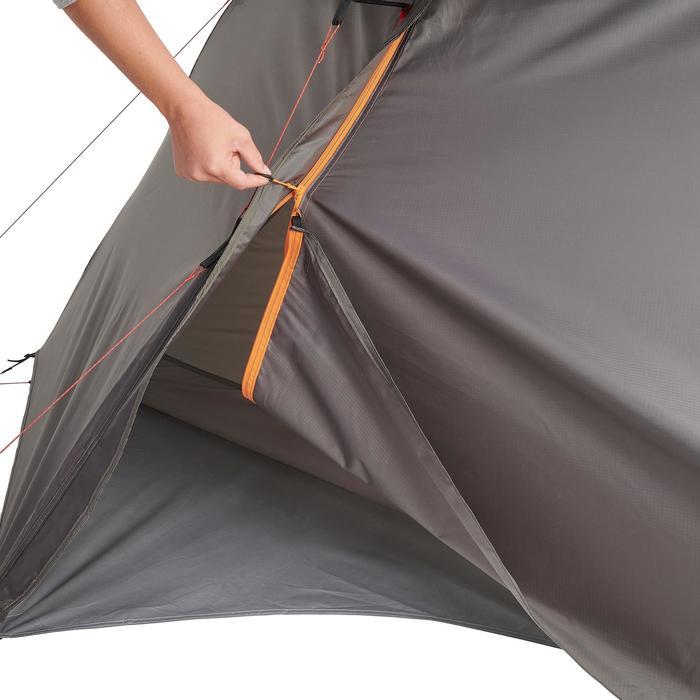 Tente de trek 900 ultralight 1 personne gris - 1296298