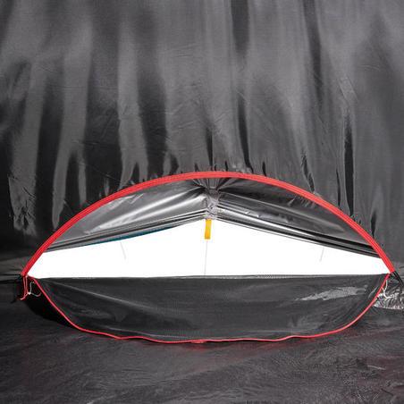 Намет-тунель Arpenaz 4.1 Fresh&Black, 4-місний, 1 спальня