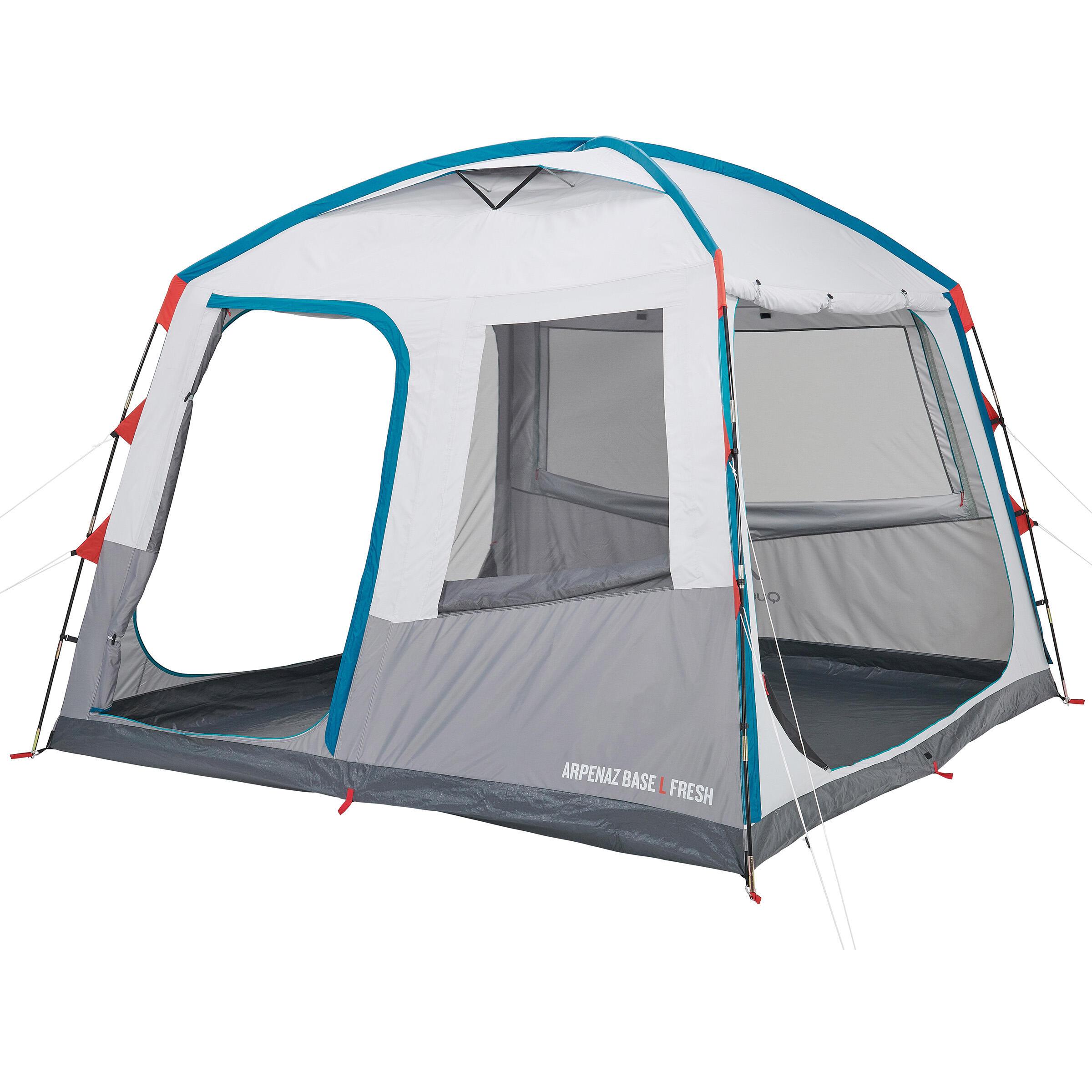 quechua kampeershelter arpenaz base l fresh 10 personen. Black Bedroom Furniture Sets. Home Design Ideas