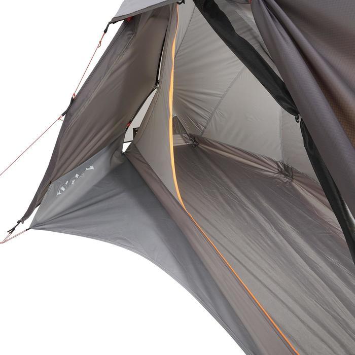 Tente de trek 900 ultralight 1 personne gris - 1296318