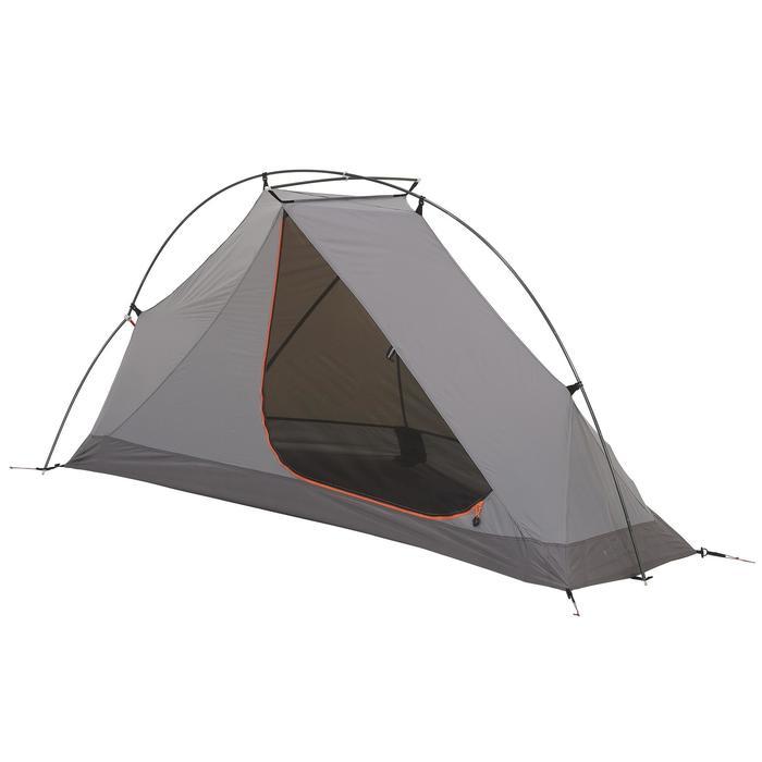 Tente de trek 900 ultralight 1 personne gris - 1296320