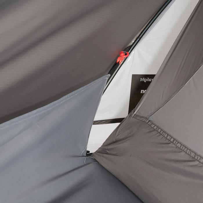 Tente de trek 900 ultralight 1 personne gris - 1296327