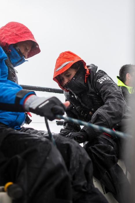 Salopette imperméable de voile régate homme Race 500 gris