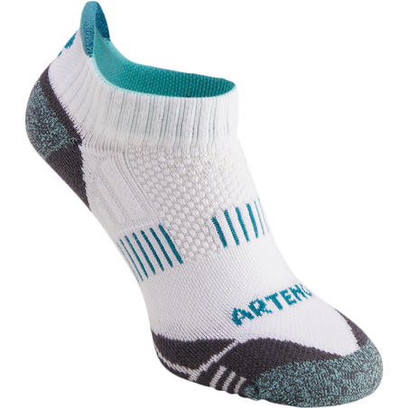 RS 900 Adult Low Sport Socks Tri-Pack - White/Green