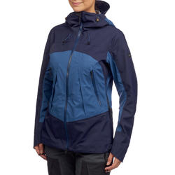 Trek 500 Women's Waterproof Jacket - Blue