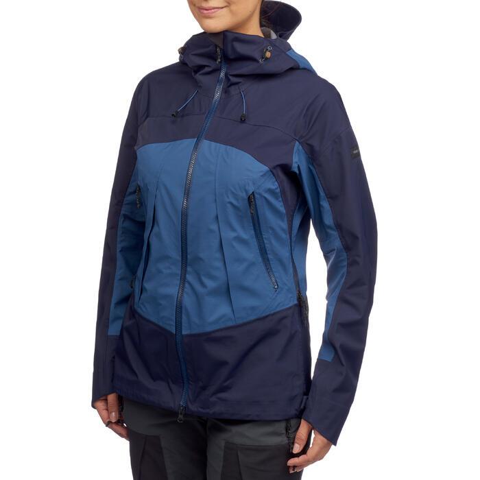 Waterdichte wandeljas voor dames Trek 500 blauw