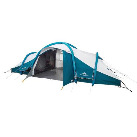 tente de camping familiale air seconds family 8 4 xl fresh black i 8 personnes quechua. Black Bedroom Furniture Sets. Home Design Ideas