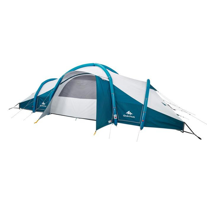 Tente de camping familiale Air seconds family 8.4 XL Fresh & Black I 8 personnes - 1296504