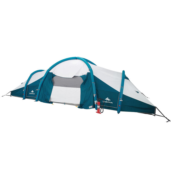 Tente de camping familiale Air seconds family 8.4 XL Fresh & Black I 8 personnes - 1296505