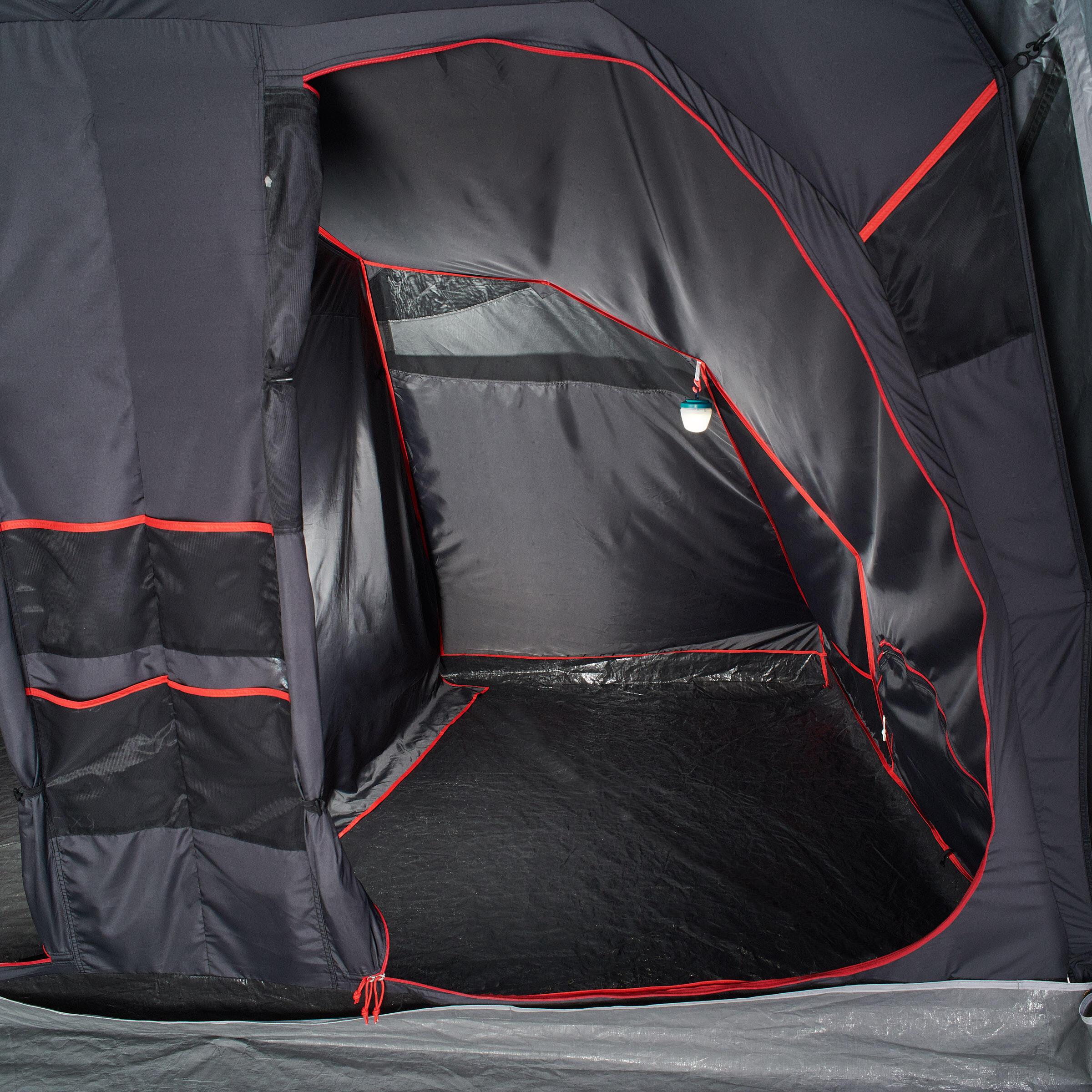 Quechua Slaapcompartiment voor Quechua-tent Air Seconds Family 8.4 XL Fresh & Black