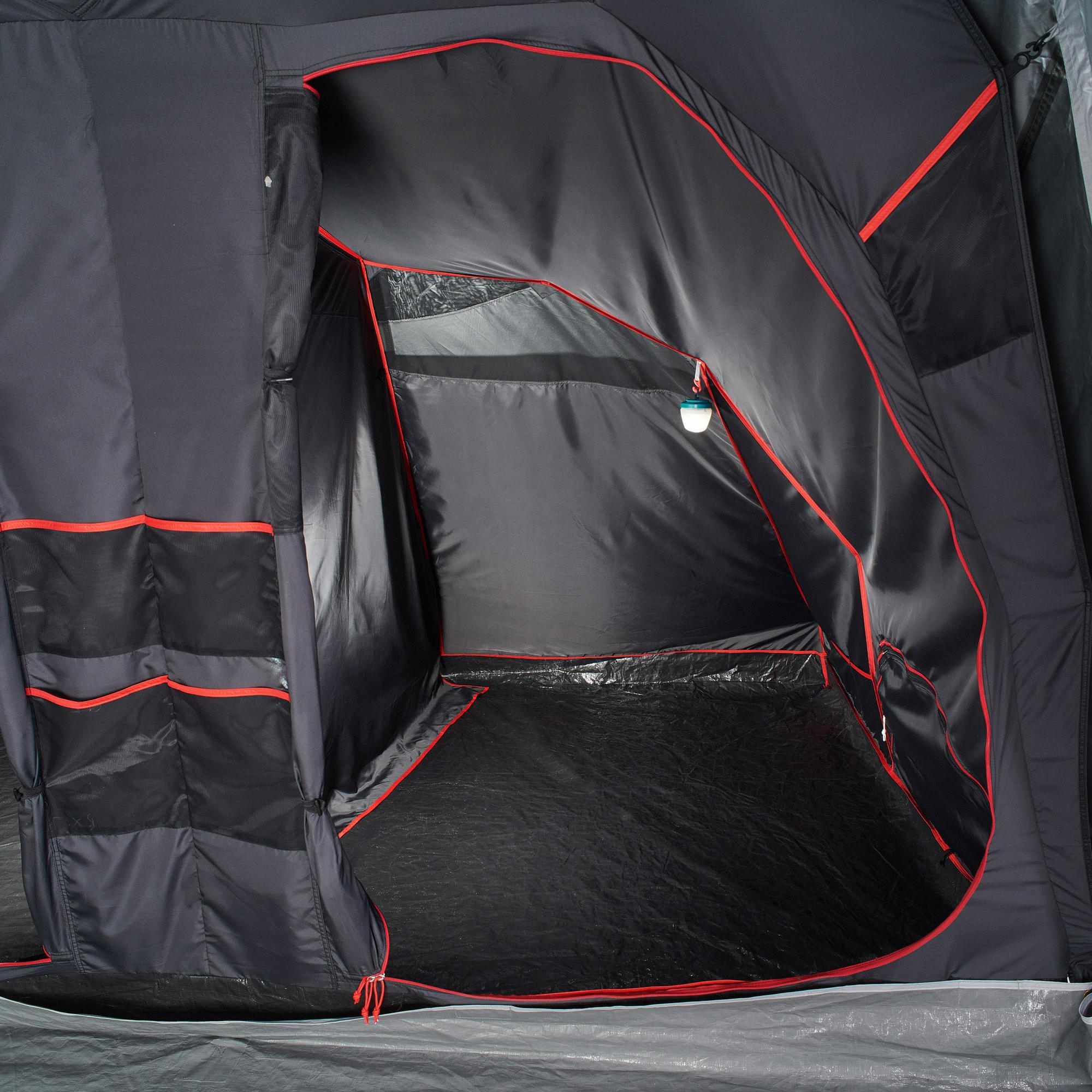 Quechua Slaapcompartiment voor Quechua-tent Air Seconds Family 8.4 XL Fresh & Black