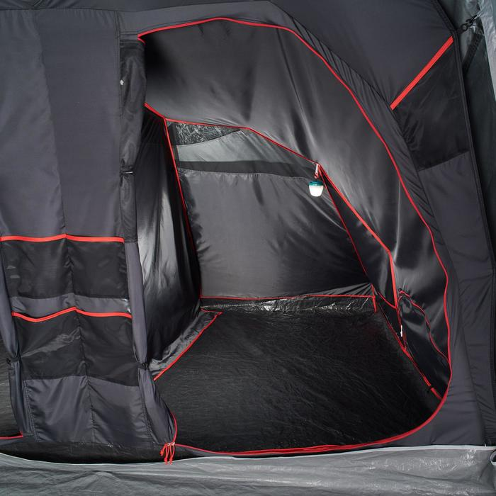 Slaapcompartiment voor Quechua-tent Air Seconds Family 8.4 XL Fresh & Black
