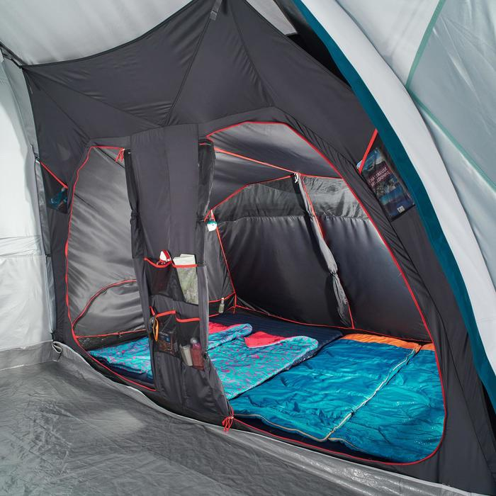 Tente de camping familiale Air seconds family 8.4 XL Fresh & Black I 8 personnes - 1296518