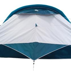 Tente de camping gonflable AIR SECONDS 8.4 FRESH&BLACK | 8 Personnes 4 Chambres