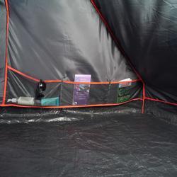 Tienda de Campaña Quechua Air Second 8.4 Fresh&black | 8 Personas 4 Habitaciones