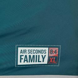 Familienzelt aufblasbar Air Seconds 8.4 Fresh&Black für 8 Personen in 4 Kabinen
