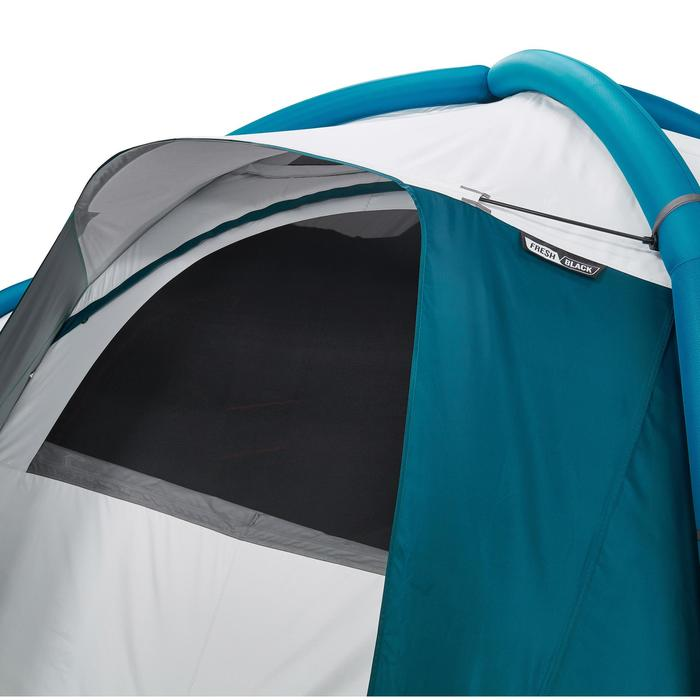 Campingzelt Air Seconds 8.4 Fresh&Black aufblasbar für 8 Pers. 4 Schlafkabinen