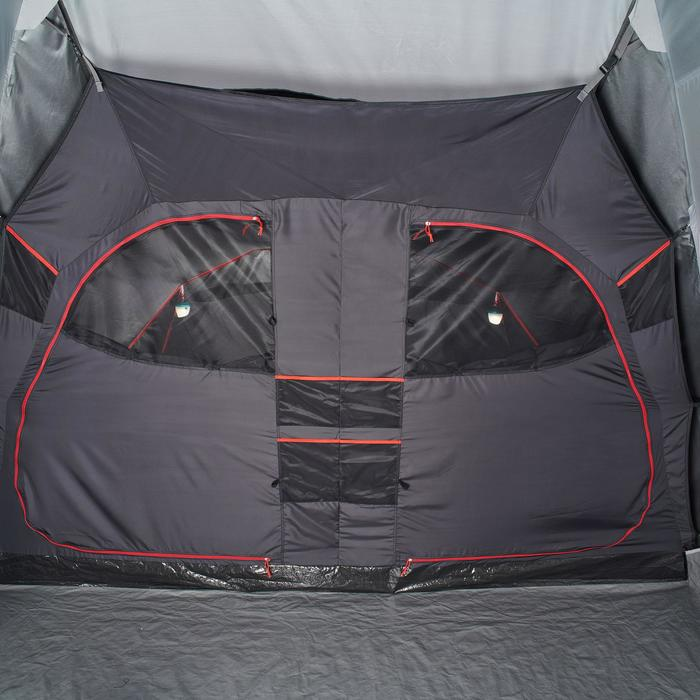 Tente de camping familiale Air seconds family 8.4 XL Fresh & Black I 8 personnes - 1296527