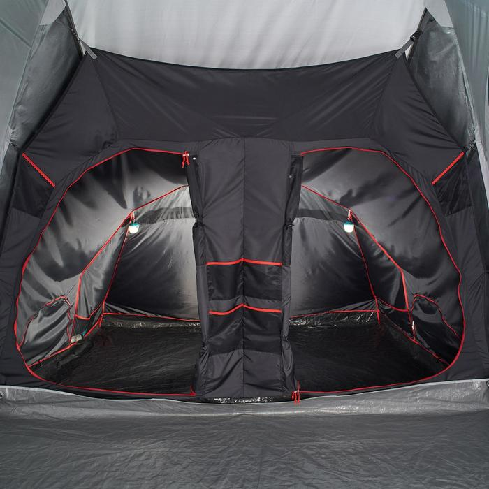 Tente de camping familiale Air seconds family 8.4 XL Fresh & Black I 8 personnes - 1296531