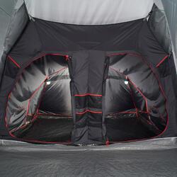 Slaapcompartiment voor Quechua-tent Air Seconds Family 8.4 XL Fresh & Black