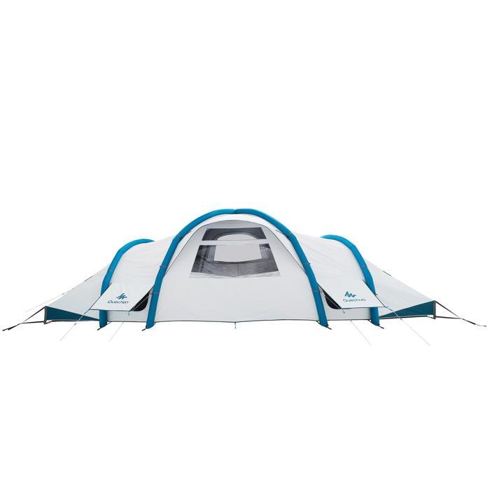 Tente de camping gonflable AIR SECONDS 8.4 FRESH&BLACK | 8 Personnes 4 Chambres