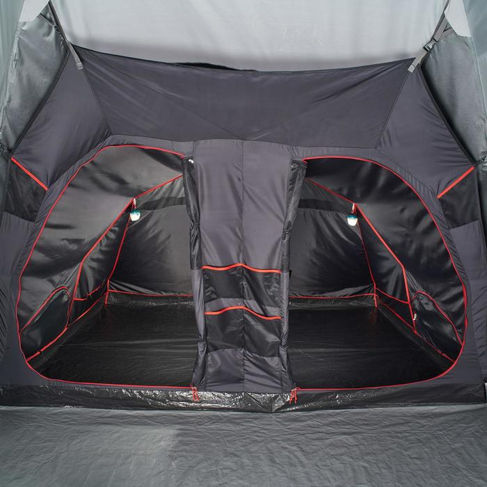 Tente de camping familiale Air seconds family 8.4 XL Fresh & Black I 8 personnes - 1296542