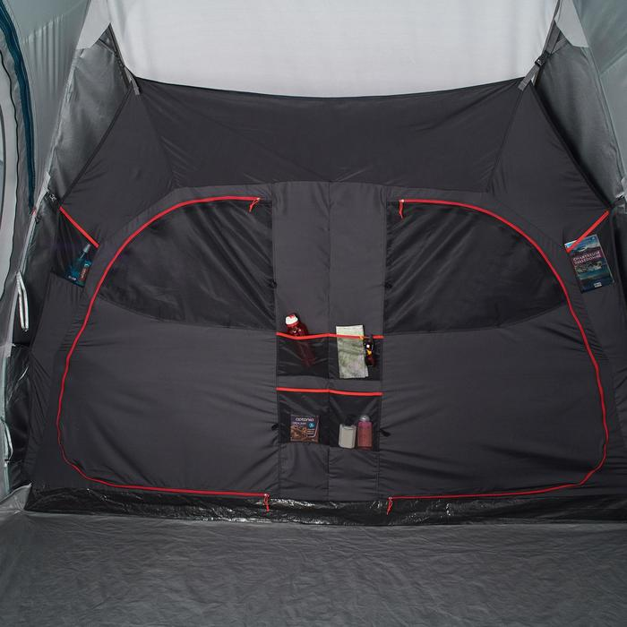 Tente de camping familiale Air seconds family 8.4 XL Fresh & Black I 8 personnes - 1296545