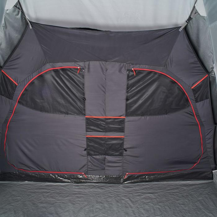 Tente de camping familiale Air seconds family 8.4 XL Fresh & Black I 8 personnes - 1296555