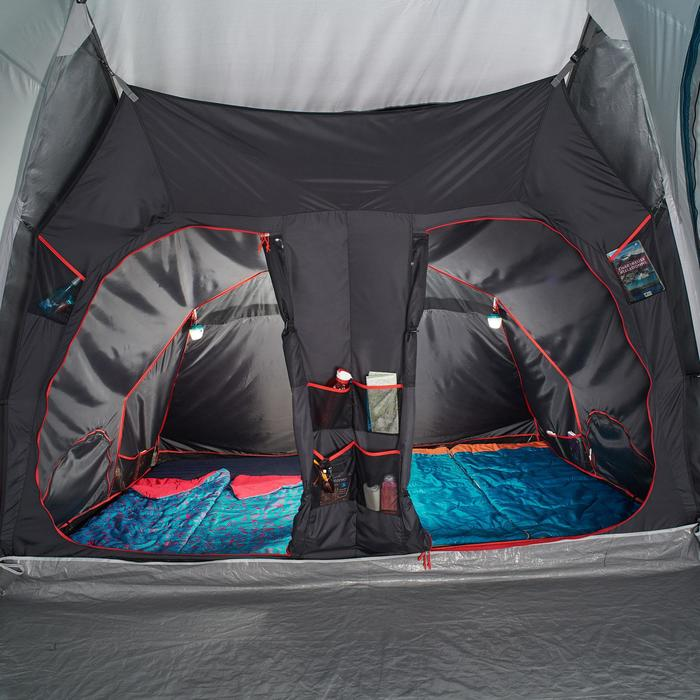 Tente de camping familiale Air seconds family 8.4 XL Fresh & Black I 8 personnes - 1296558